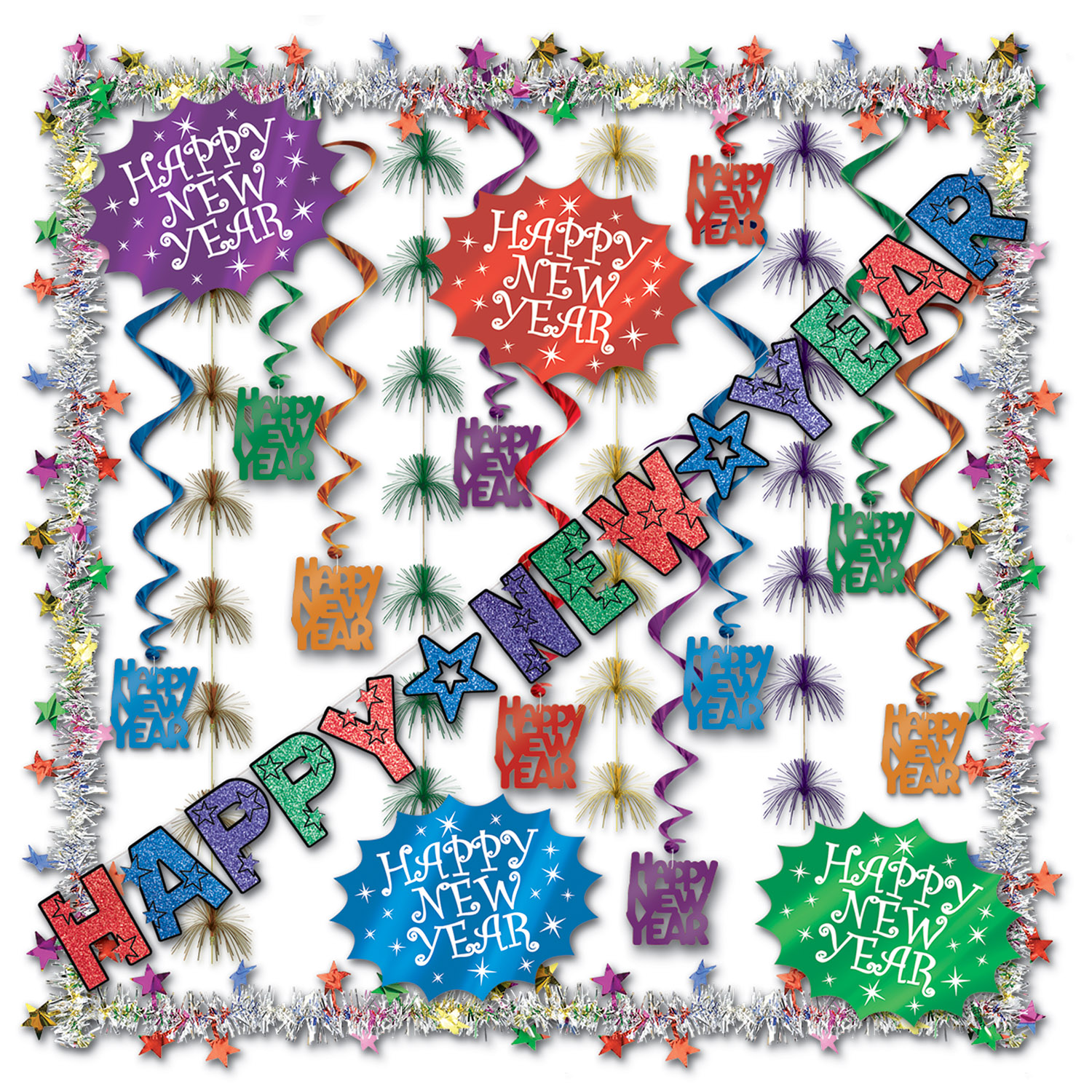 New Year Decorating Kit - 23 Ct