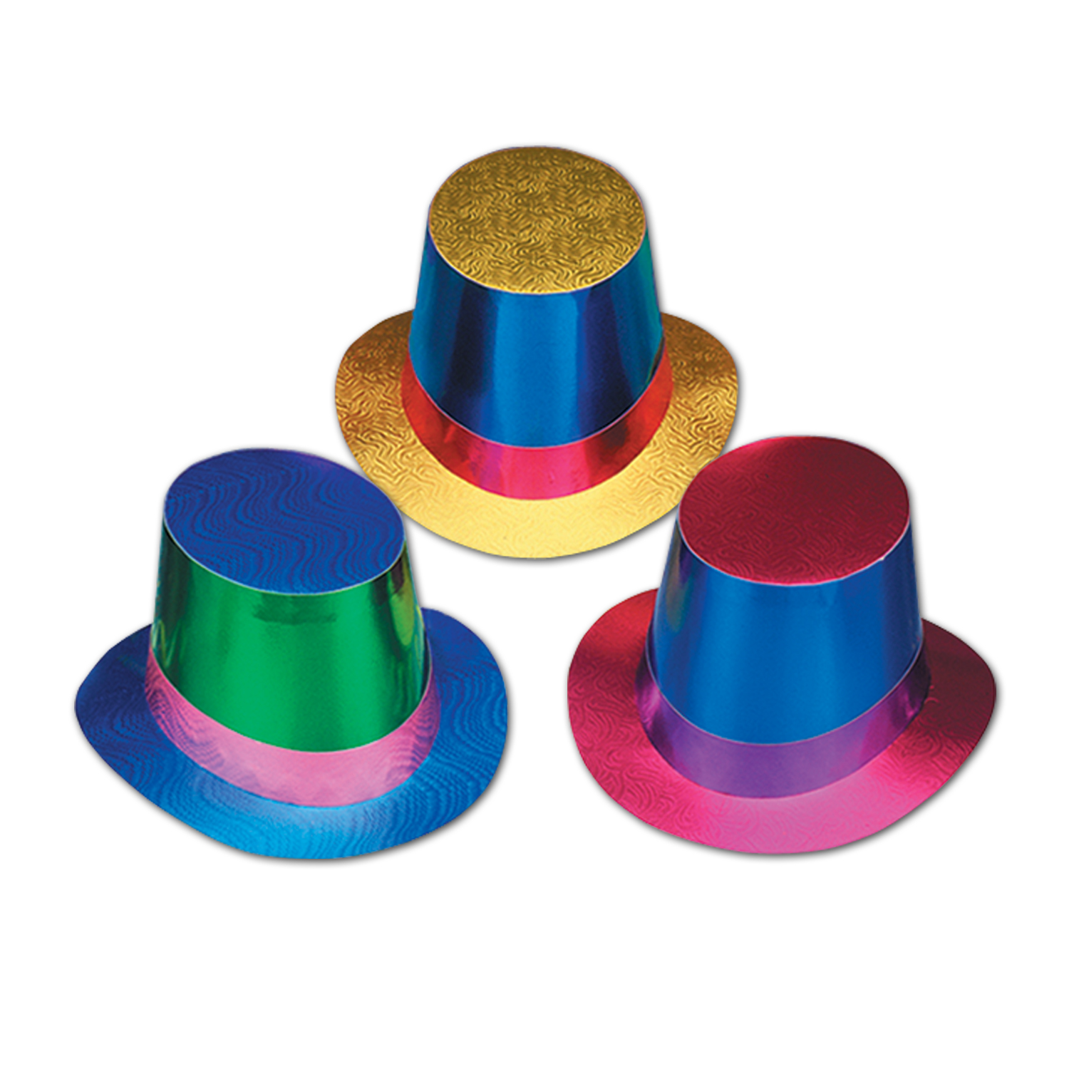 Foil Hi-Hats asstd colors