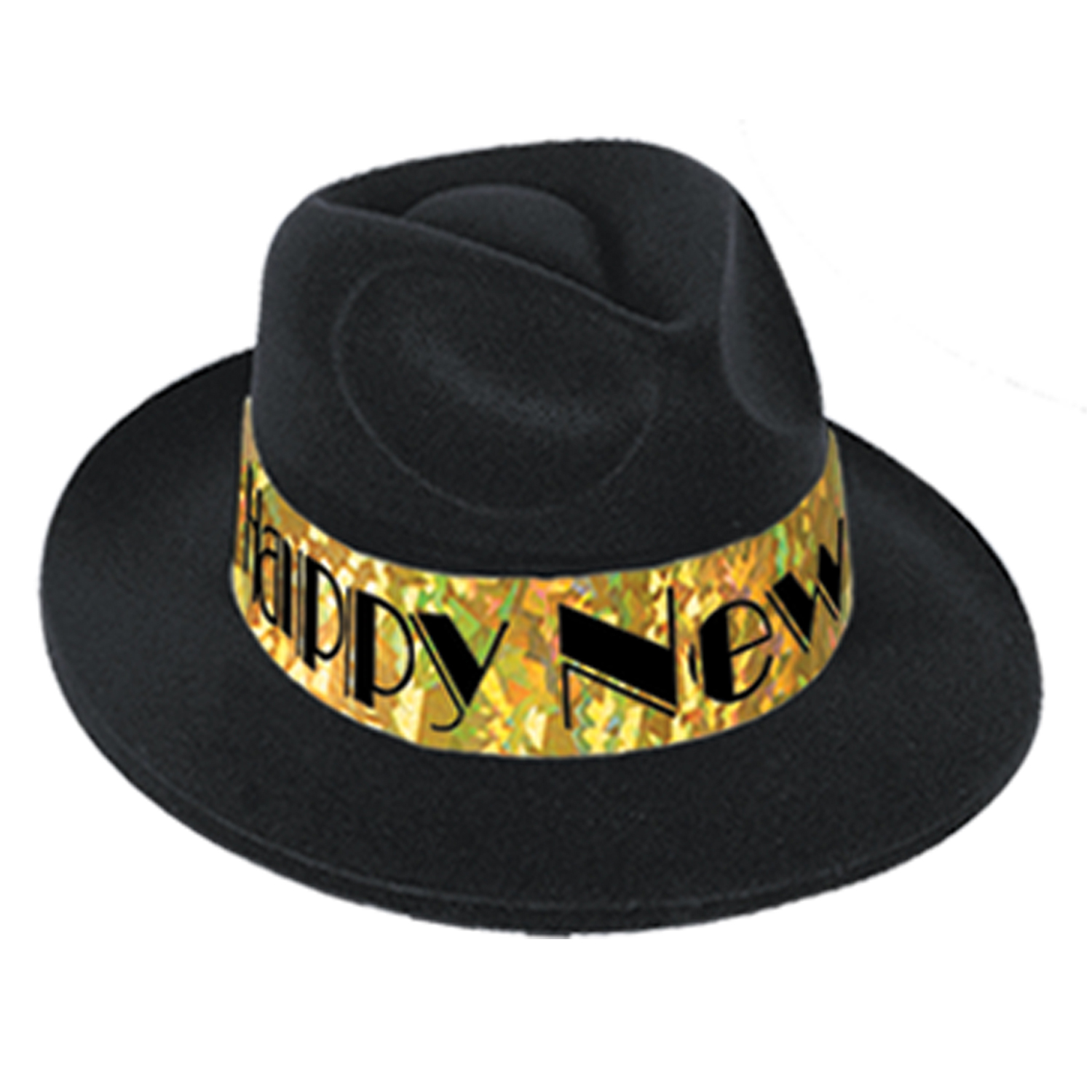 Swingin' Gold Fedora black & gold