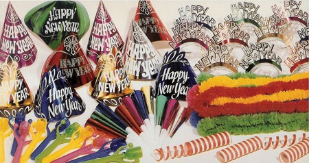 New Year Glitter Party Box Kit for 20