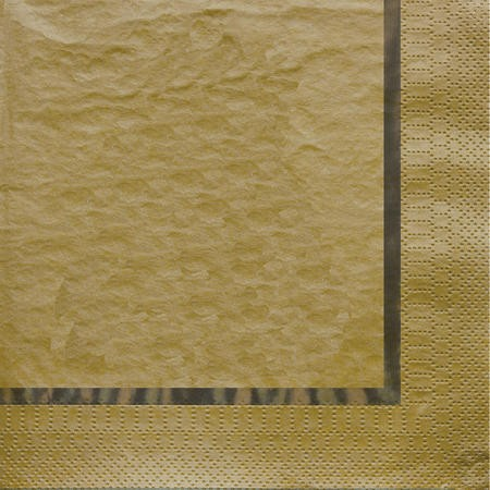 Glitz Gold 3-Ply Beverage Napkins with Foil Stamp