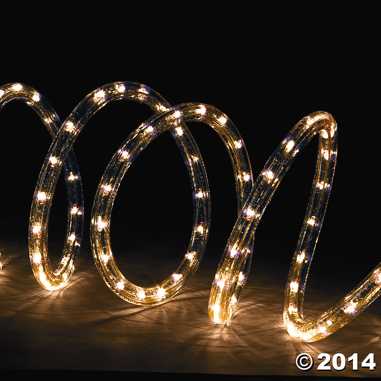 Plastic Clear Rope Lights