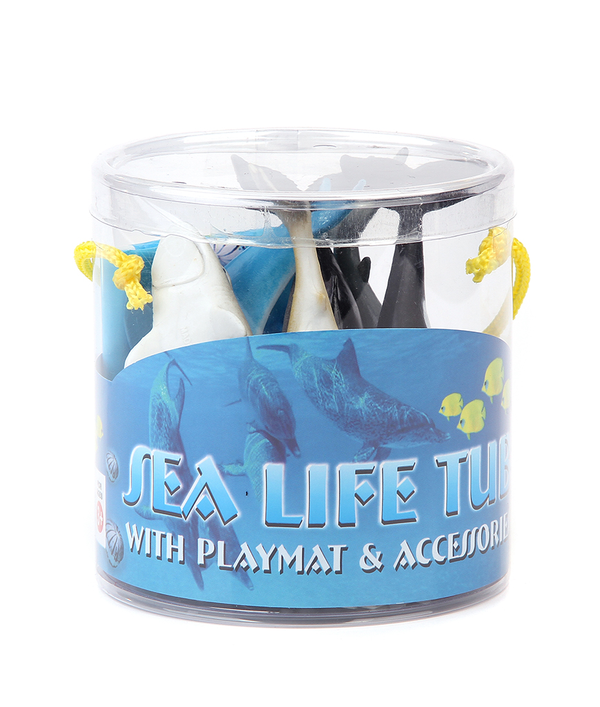 5 Inch Sharks Tub - Assorted