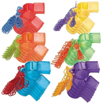 Sports Whistles Value Pack- 30pc