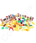 Deluxe Pretend Food 100 Piece Set