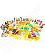 Deluxe Pretend Food 120 Piece Set