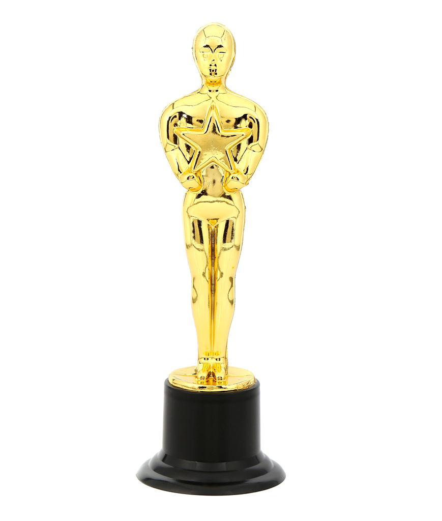 6 Inch Award Trophy - 24ct