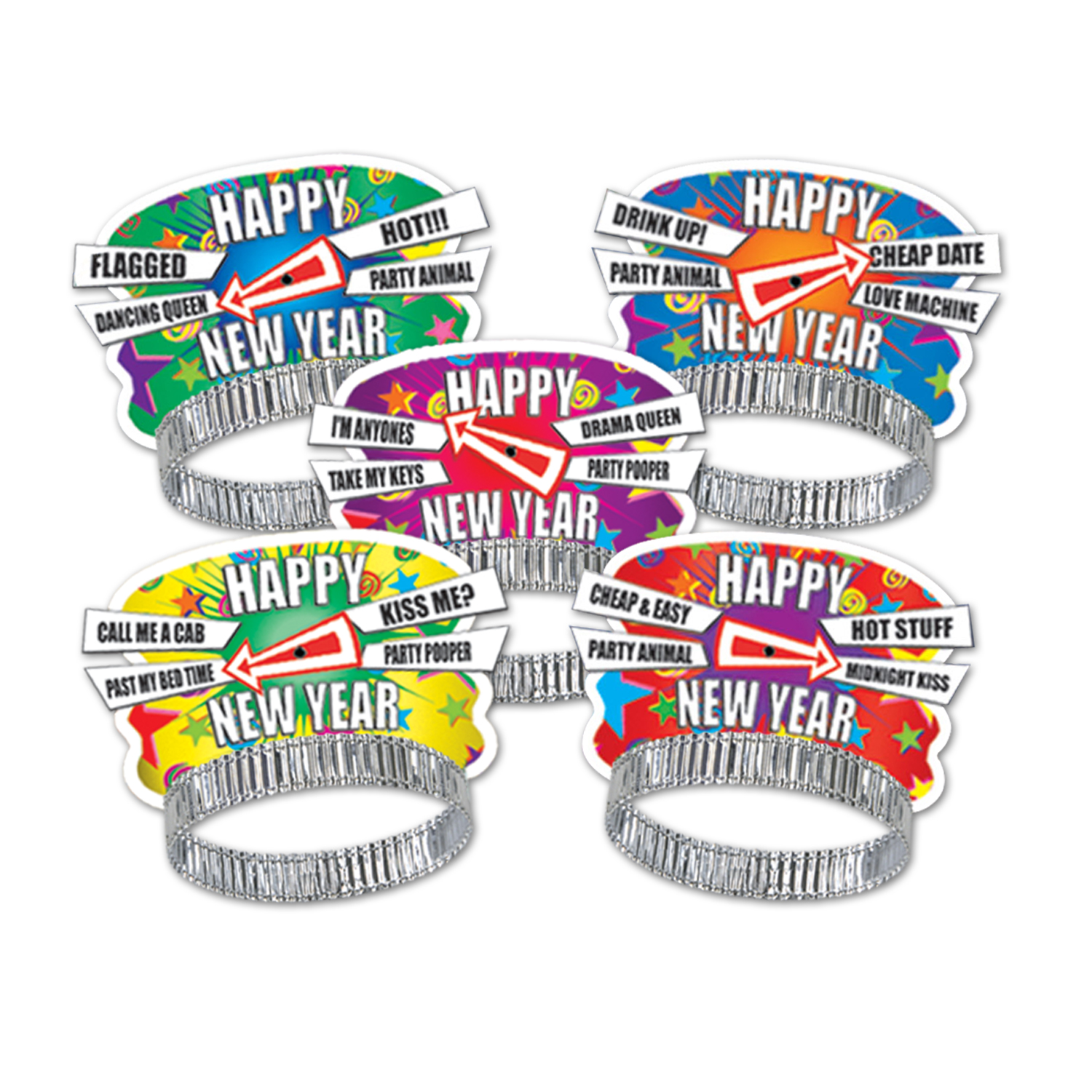 Party Personality New Year Tiaras