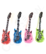 Inflatable Rock 'N Roll Electric Guitars - 15 Pack