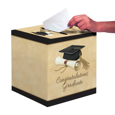 Sophisticate Grad 12 Card Box