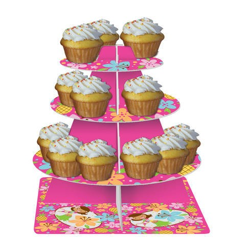 Pink Luau Fun Tiered Server