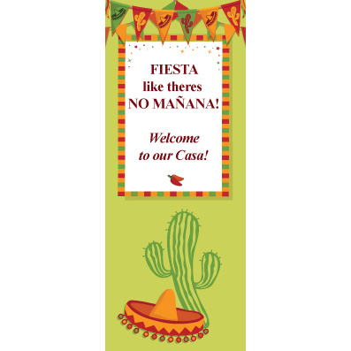 Fiesta Flags - Custom Door Banner