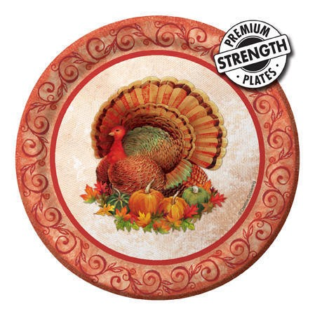 Bountiful Feast 7 inch Lunch Plates