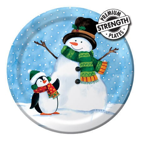 Penguin Pal 7 inch Lunch Plates