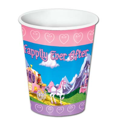 Princess Beverage Cups 8 Oz