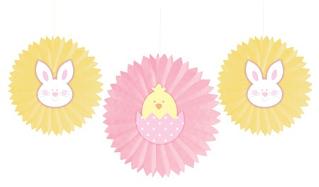 Bunny Tissue Fans with Attachment