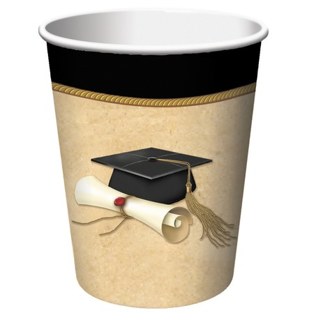 Sophisticate Grad 9 oz. HotCold Cup