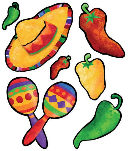 Festive Fiesta Cutout Assortment