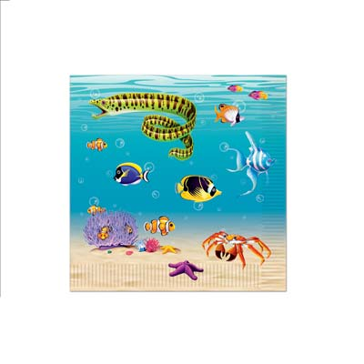 Under The Sea Luncheon Napkins 2-Ply