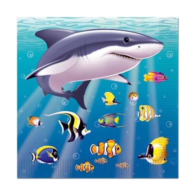 Under The Sea Beverage Napkins 2-Ply