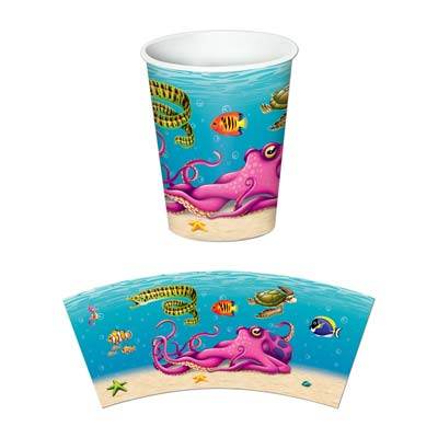 Under The Sea Beverage Cups 9 Oz