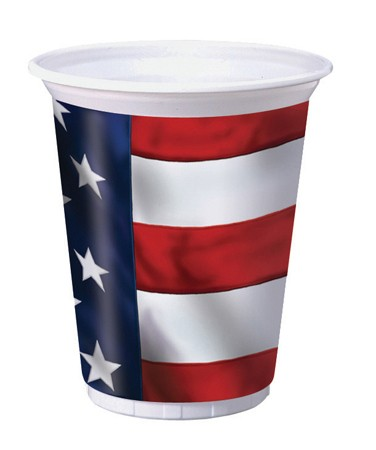 US Pride 16 Oz. Printed Plastic Cups
