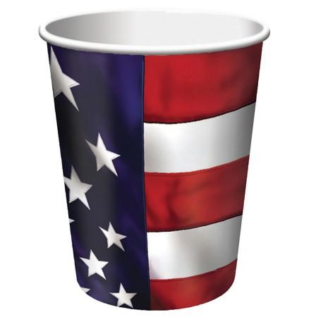 US Pride 9 Oz HotCold Cup