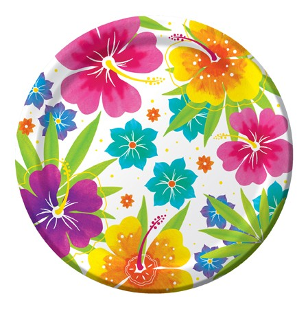 Floral Delight 9 Dinner Plates