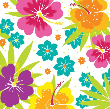 Floral Delight 2-Ply Lunch Napkins