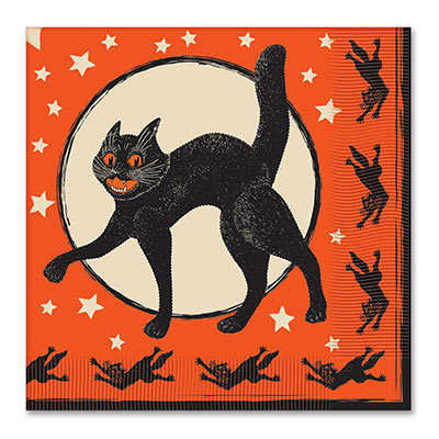 Vintage Halloween Luncheon Napkins 2-Ply