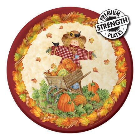 Pumpkin Fest 9 in Dinner Plates