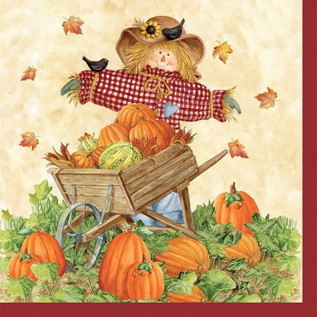 Pumpkin Fest 2-Ply Lunch Napkins