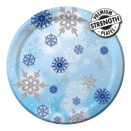 Shimmering Flakes 10.25in Banquet Plates