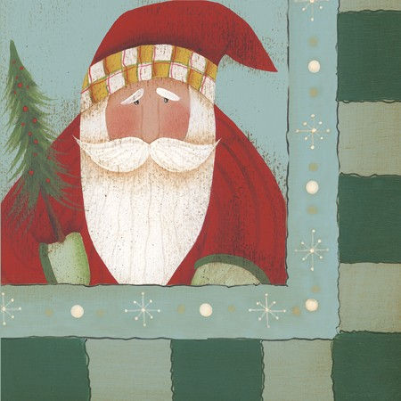 St. Nick Tidings 2-Ply Lunch Napkins