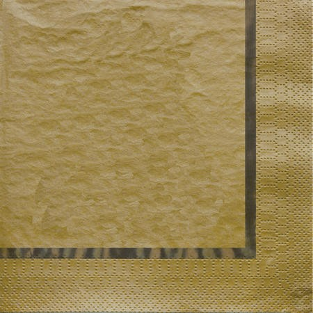 Glitz Gold 3-Ply Lunch Napkins with Foil Stamp
