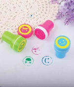 Smile Silly Face Stamps - Assorted