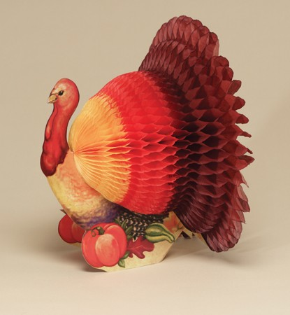 Turkey Honeycomb 12 inch Centerpiece