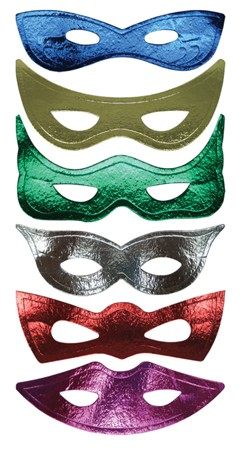 Multicolored Eye Masks
