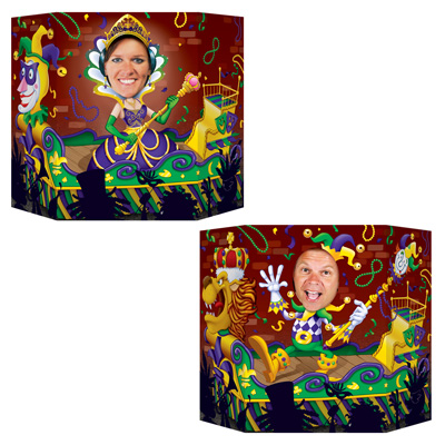 Mardi Gras Photo Prop 3ft 1in x 25in