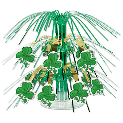 Shamrock Mini Cascade Centerpiece 7.5in