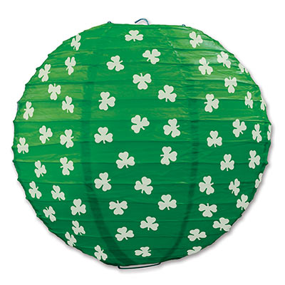 Shamrock Paper Lanterns 9.5in