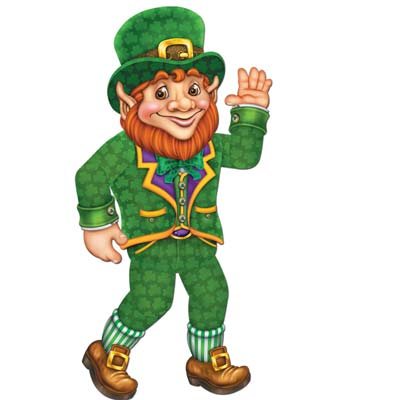 Jointed Leprechaun 33 Inch