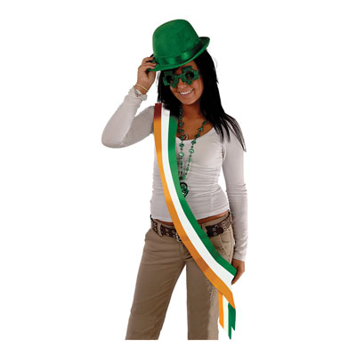 Irish Satin Sash 33 x 4in