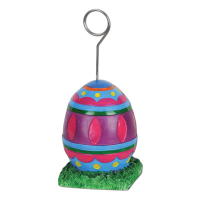Easter Egg PhotoBalloon Holder 6 Oz