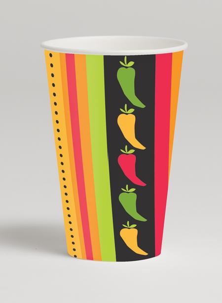 Fiesta Grande 12 Oz Cups