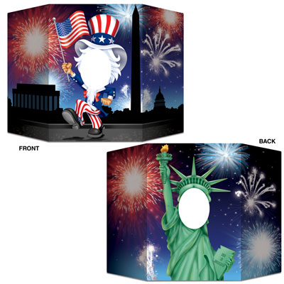 Patriotic Photo Prop 3ft 1in x 25in