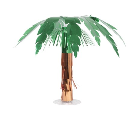 Palm Tree Foil 20 Centerpiece
