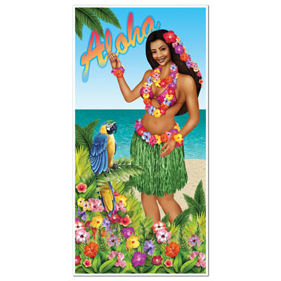 Luau Door Cover 30in x 5ft