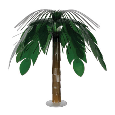 Jungle Palm Cascade Centerpiece 18