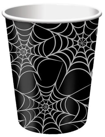 Spider Webs 9 Oz Hot Cold Cup